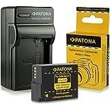 PATONA Chargeur + Batterie DMW-BLC12 pour Panasonic Lumix DMC-FZ200 DMC-FZ300 DMC-FZ1000 DMC-G5 DMC-G6 DMC-G70 DMC-GH2 DMC-GX8 DMC-GH6