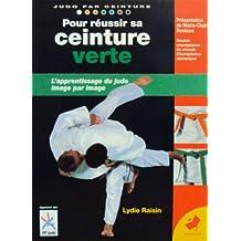 Pour réussir sa ceinture verte - l'apprentissage du judo image par image