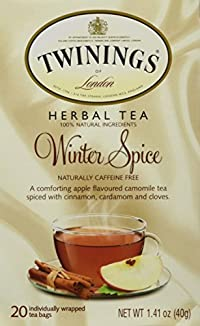 Twining Tea Tea Winter Spice 20 Bags (2 Pack)