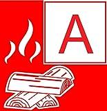Feuerlöscher 6L Schaum EN3 für Gewerbe geeignet + ANDRIS® Prüfnachweis mit Jahresmarke