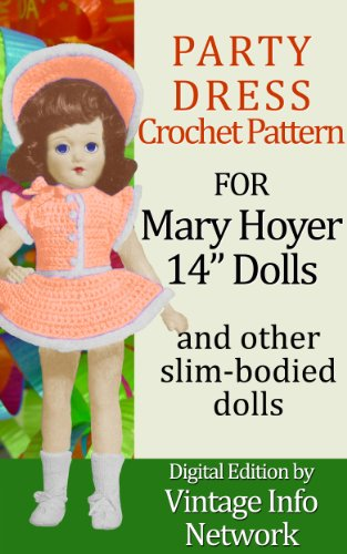 Party Dress Outfit Set Crochet Pattern for Mary Hoyer 14