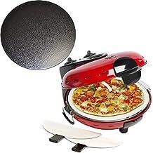 Pizzaofen mit getrennt zuschaltbarer Ober- und Unterhitze und glasiertem Stein