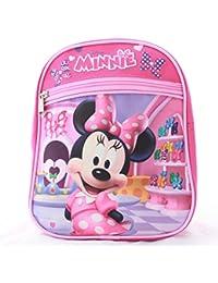 "Minnie Mouse Girls Kids Toddler Preschool Mini Backpack Baby 10"" Mini"