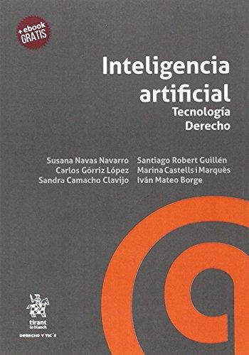 Inteligencia artificial Tecnología Derecho (Derecho y Tic´s) por Susana Navas Navarro