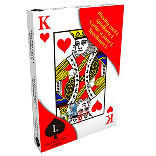 �e Spielkarten Senioren Deko Poker Casino Kartenspiel Gross ()