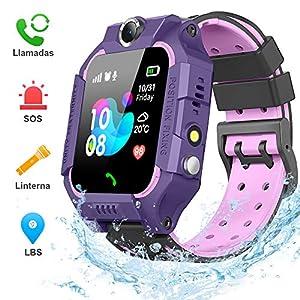 BANLVS Smartwatch Niños, 2019 Nuevo Reloj Inteligente Niños con Flashlight,