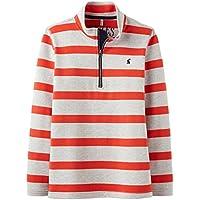 Joules Junior Boys Red Stripe Dale Sweatshirt