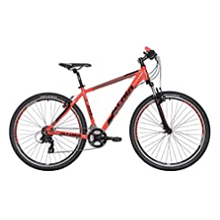 "Mountain Bike Atala REPLAY STEF VB 21V rossa nera M 18"" (170-185 cm)"