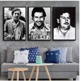 Character Legend Retro Vintage Poster and Prints Painting Wall Art Canvas Wall Pictures for Living Room Home Decor-50x70cm No Frame