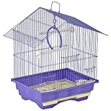 #3: Lindo Bird Cage For Javas ,Finches And Love Birds (Purple)
