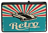LEotiE SINCE 2004 Feuerzeug Benzin Sturmfeuerzeug Bedruckt Retro altes Auto