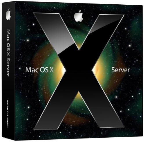 Apple Mac OS X Server v10.5 (10-client license) EN