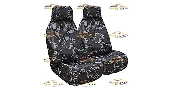 HD WATERPROOF SINGLE FRONT BLACK SEAT COVER  for LAND ROVER FREELANDER