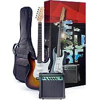 Rocket EGPACKSB Kit de démarrage Guitare électrique Sunburst