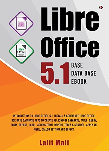 Libre office 5 1 Base Database eBook:Introduction to libre