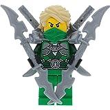 LEGO Ninjago Minifigur Lloyd Garmadon aus Set 70728 incl. 4 GALAXYARMS Schwertern