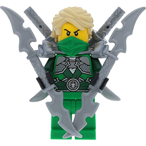 LEGO Ninjago Minifigur Lloyd Garmadon aus Set 70728 incl. 4 GALAXYARMS Schwertern (Lego Ninjago Minifigur Zane)