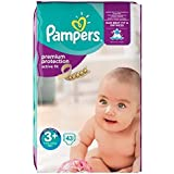 Pampers ActiveFit Taille 3+, 5 a 10 kg 43 couches
