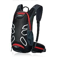 15L impermeabile ciclismo zaino - Anti-crack slittamento respirabile dello zaino della spalla zaino della bicicletta, iParaAiluRy - Borsa Piccola Corda Borsa