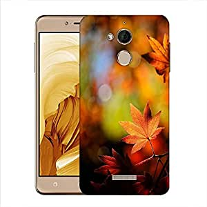 Snoogg Autumn Leaves In Trees Designer Protective Phone Back Case Cover For Coolpad Note 5