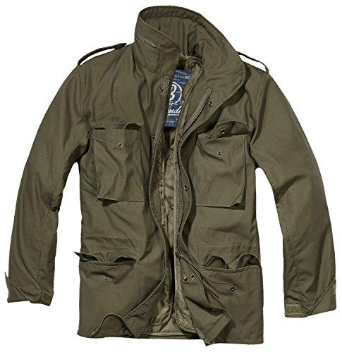 Brandit Giacca da uomo M65Field Jacket nero XXXXXL