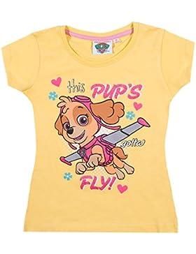 Paw Patrol Mädchen T-Shirt - gelb