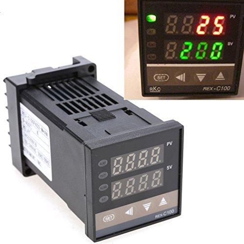 PID Digital Controller 400℃ Thermoelement Temperatur Kontrolle 0bis