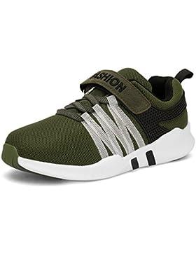 Yeeper Nuevo Zapatillas de Deporte Transpirables con Cierre de Velcros y Suela Antideslizante para Los Niños y...