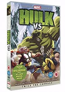 Hulk Vs. Wolverine  Vs. Thor [DVD]