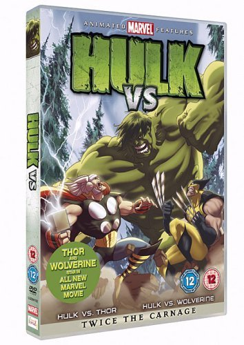 Image of Hulk Vs. Wolverine  Vs. Thor [DVD]