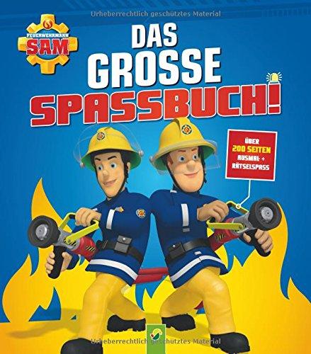 Feuerwehrmann Sam Ausmal- + Rätselbuch thumbnail