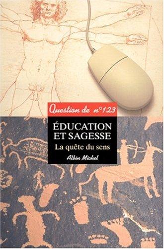 Education et sagesse