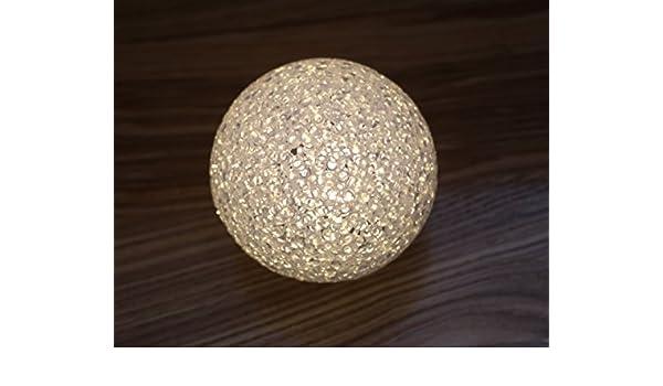 5 Größen Stimmungsleuchte Deko Kugel Lampe LED Leuchtkugel mit 4 Funktionen