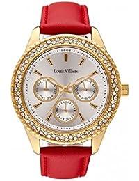 Reloj mujer Louis Villiers en acero blanco 41 mm lv2077