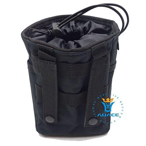 Multifunktions Survival Gear Tactical Beutel MOLLE Beutel Magazin Dump Munition Drop Utility Pouch Tasche, Outdoor Camping tragbar Handtaschen Taille Tasche Werkzeugtasche Reisetasche BK