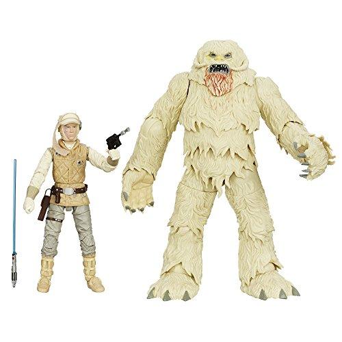 Hasbro - Figurine Star Wars Black Series - Luke Skywalker et Wampa 15cm - 0630509267576
