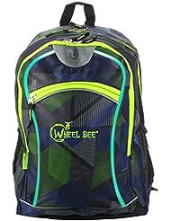 WHEEL BEE Wheel Bee BACKPACK, Design: Blue/gr