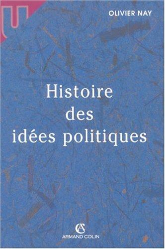 Histoire des idées politiques par Olivier Nay