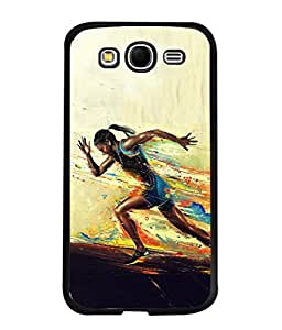 PrintVisa Designer Back Case Cover for Samsung Galaxy Grand Neo I9060 :: Samsung Galaxy Grand Lite (She Runs Very Fast Design)