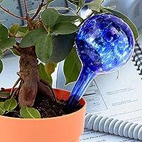 Bluelover 3pcs giardino vetro sfera gocciolamento automatico strumento di irrigazione
