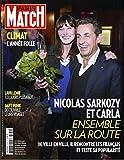 Paris Match n° 3379 du 19 Février 2014 - Nicolas Sarkozy (couv'), les Gipsy Kings (3p), chez George Lucas (2p), Renaud Lavillenie ((4p), Meryl Streep (4p), le vrai visage des Daft Punk (4p)