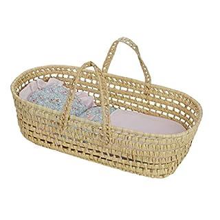 Petitcollin Petitcollin800105 Doll Moses Basket