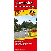 Altmühltal - Fränkisches Seenland: Motorradkarte mit Ausflugszielen, Biker- & Einkehrtipps, Tourenvorschlägen, wetterfest, reißfest, abwischbar, GPS-genau. 1:100000 (Motorradkarte / MK)