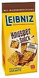 Leibniz Knusper Snack Schoko Cornflakes 150 g - original Butterkeks mit Vollmilch-Schokolade - knackiger Snack für zwischendurch - Mini-Keks mit wiederverschließbarer Verpackung