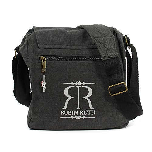 Robin Ruth, Borsa a spalla donna Grigio grigio verschieden wanted blau rot 23x23x8