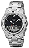 Tissot T-TOUCH T0474201105100 - Reloj de caballero automático, correa de acero inoxidable color gris