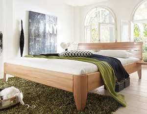 Stilbetten Bett Holzbetten Massivholzbett Trieste Kiefer weiß (lackiert) 200x200 cm