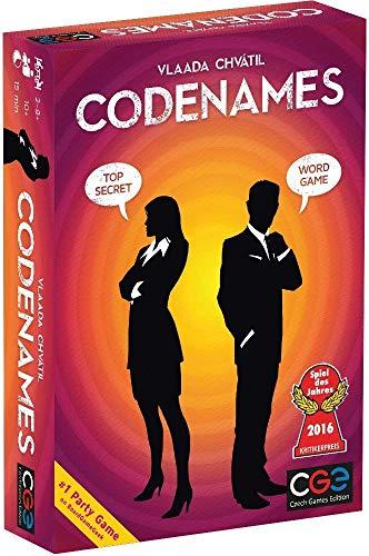 Techno Hight® Code Names Word Game,Code Names Board Games