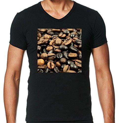camiseta-negro-con-v-cuello-para-los-hombres-tamao-m-alimentos-frijol-estilo-del-caf-by-wonderfuldre