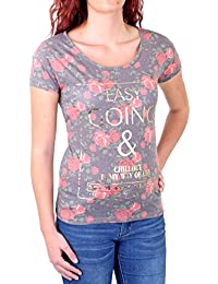 Madonna T-Shirt Damen FLOWI Easy Going Flower Print Shirt MF-408026-V1 Original
